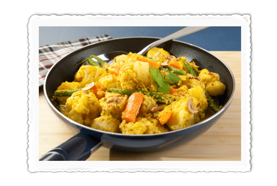 Almond & Cauliflower Korma