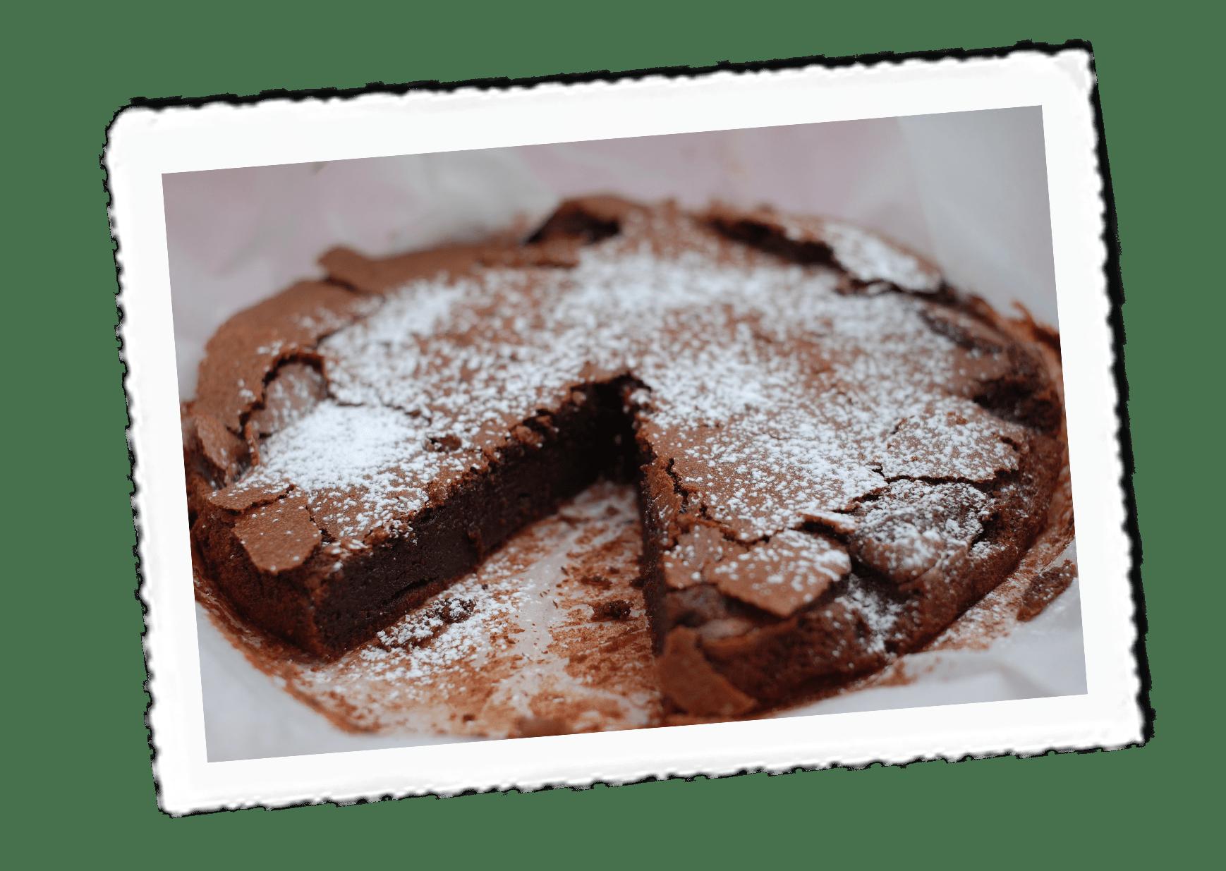 Almond-Chocolate-Cake