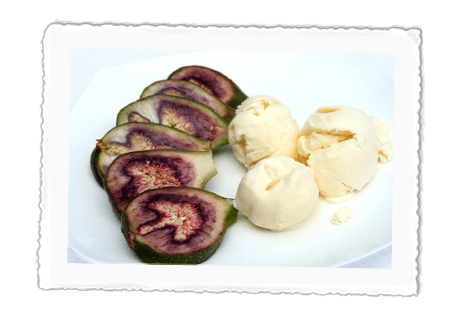 Fig & Honey Ice Cream
