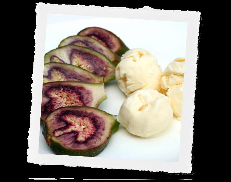 Fig Honey Ice Cream
