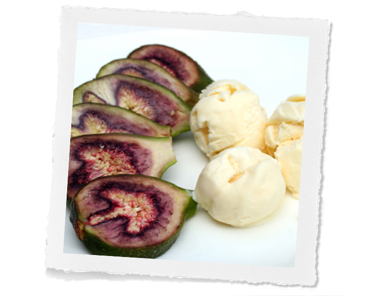 Fig Honey Ice Cream