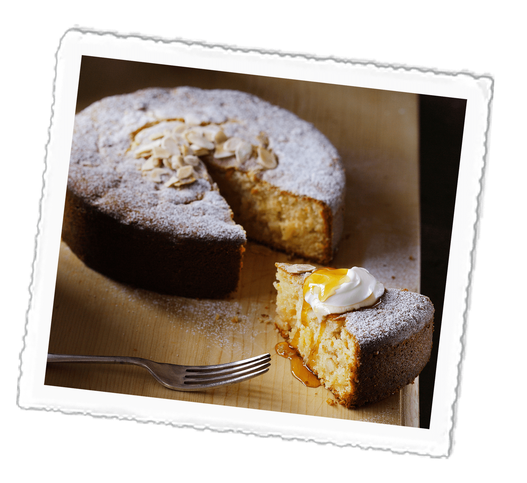 Greek Citrus Cake
