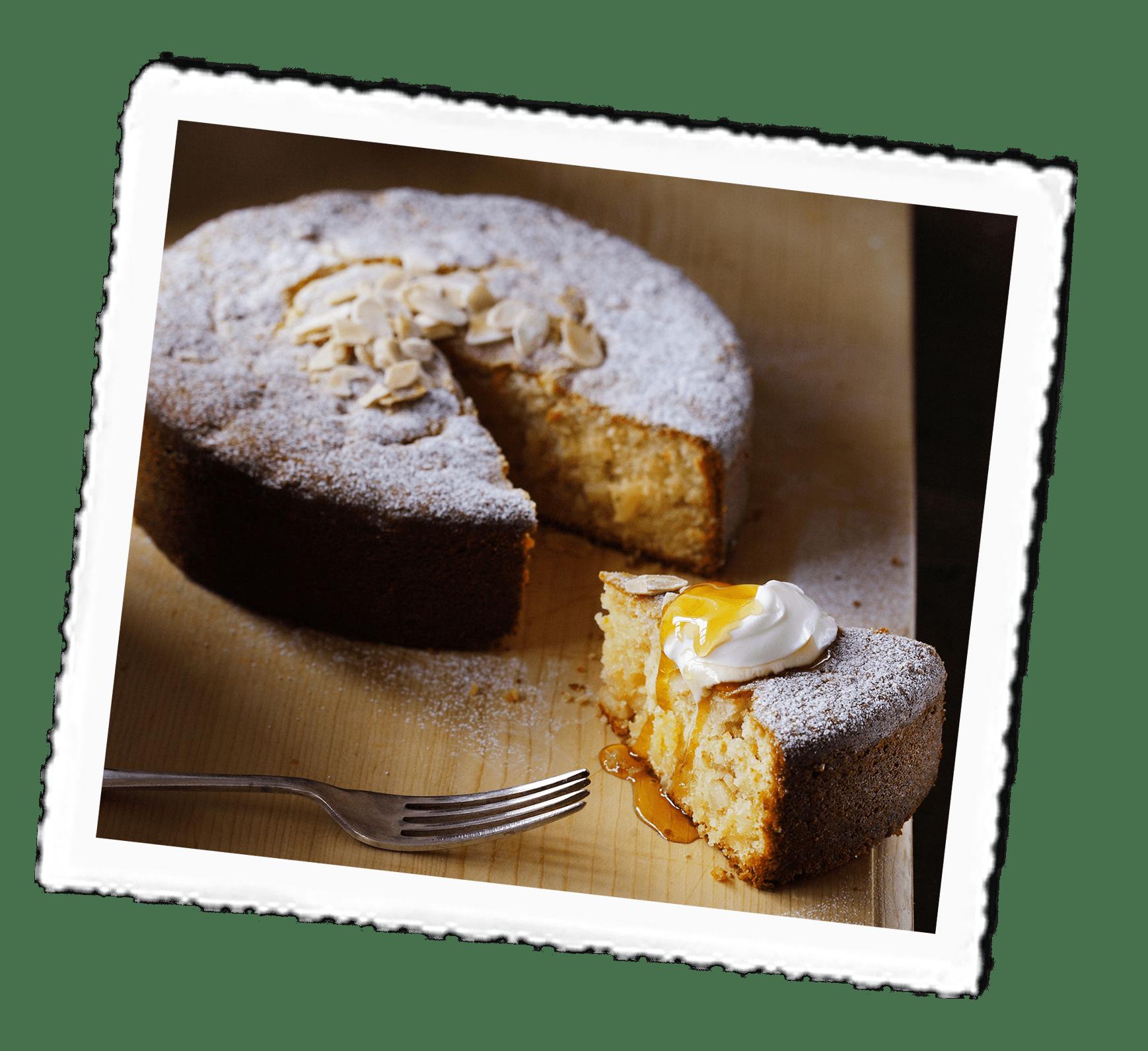Greek Citrus Cake
