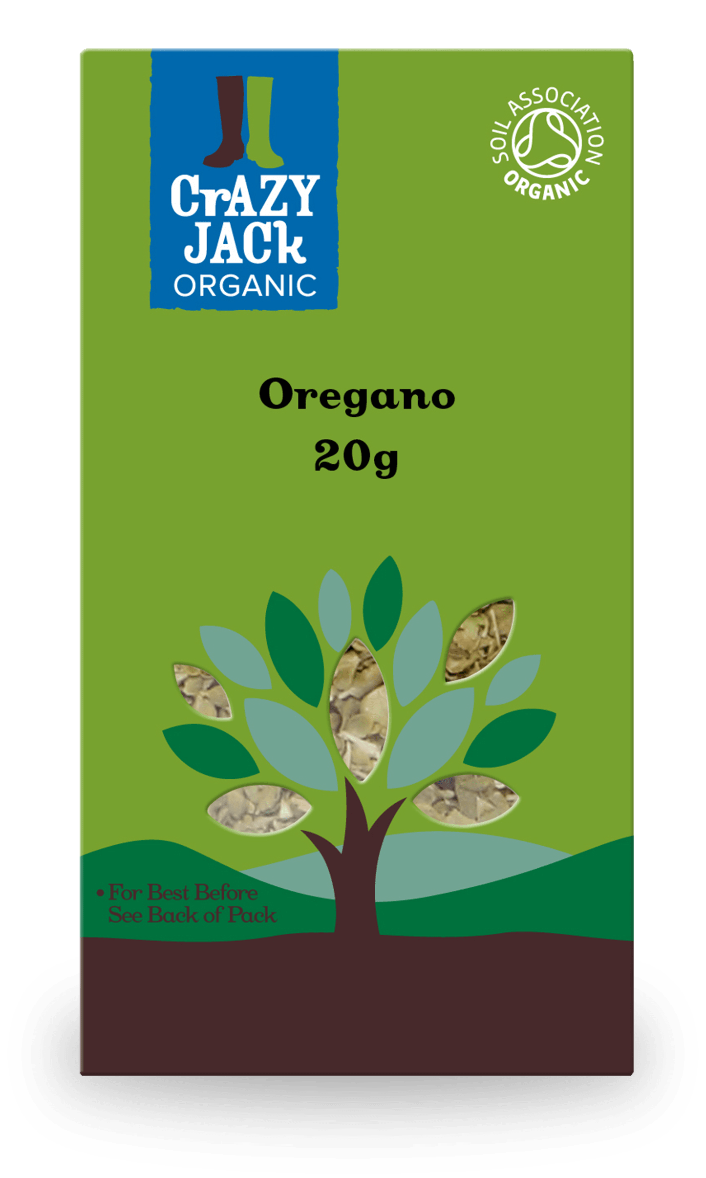 20g packet of organic oregano