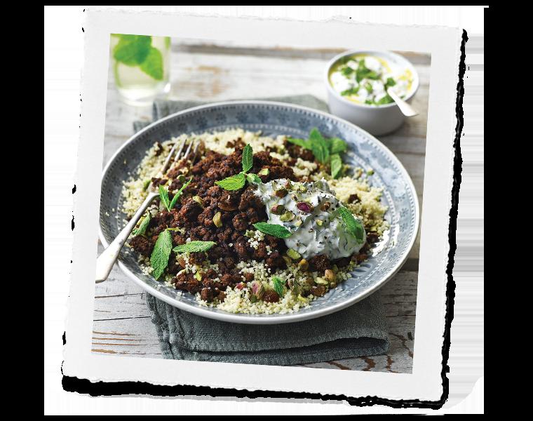 Persian Lamb couscous