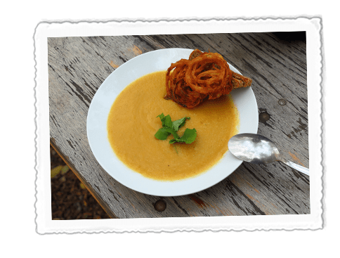 Red Lentil & Sweet Potato Soup
