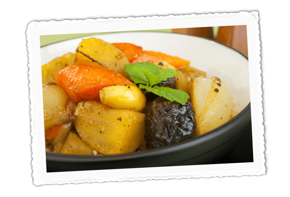 Vegetable & Apricot Tagine