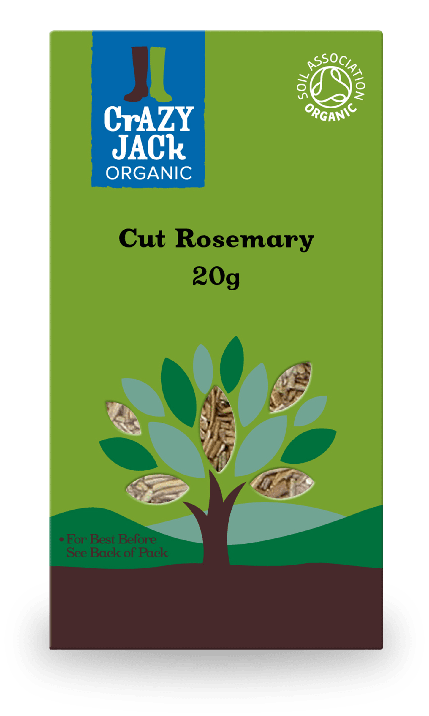 20g packet of cut rosemary