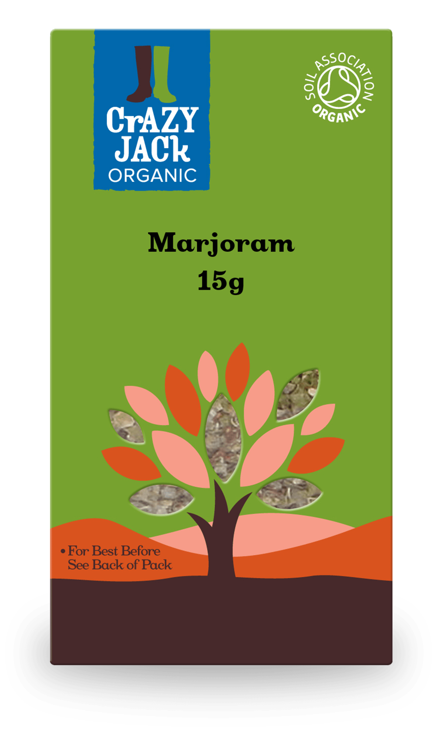 15g packet of marjoram