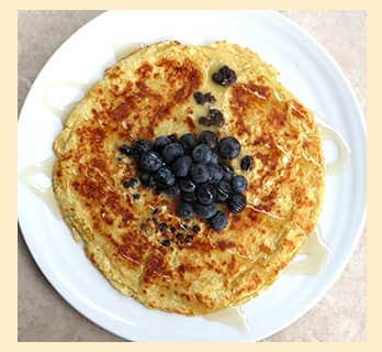 An image of Organic Blueberry Pancakes