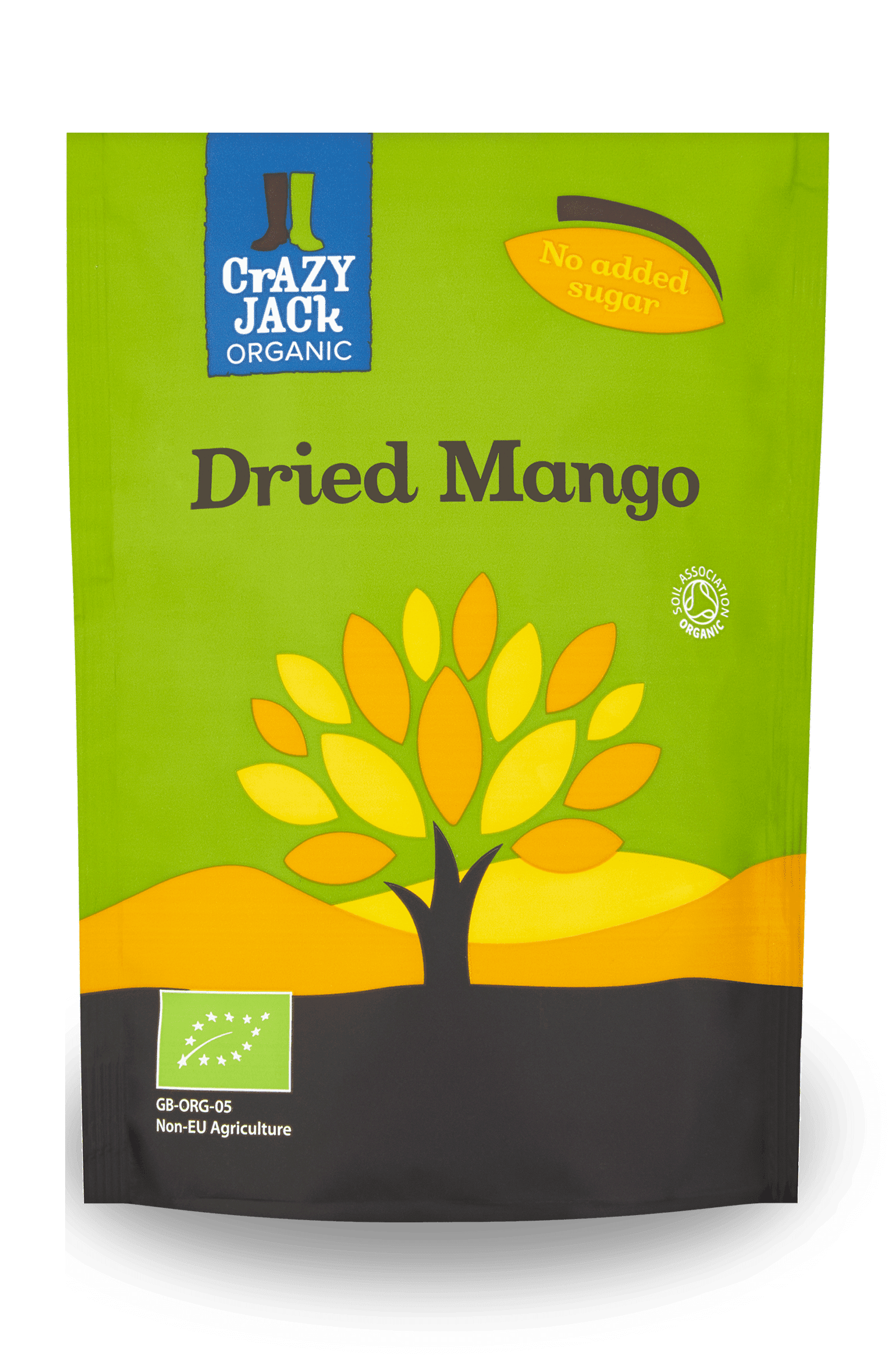 Crazy Jack Organic Dried Mango