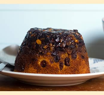 Mincemeat Sponge Pudding
