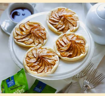 Crazy Jack Easy Pear and Almond Pastries