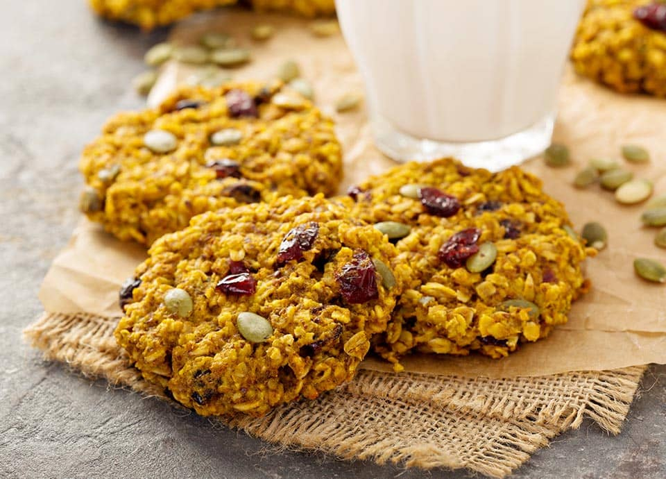 An image of seeded cookies