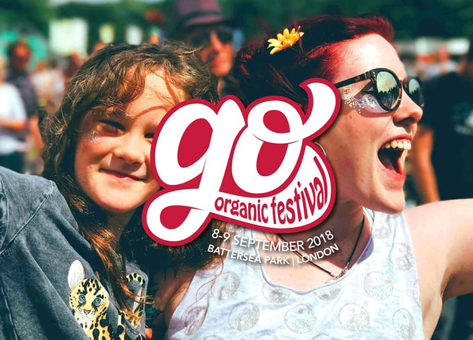An image of a mum and her child at Go Organic Festival