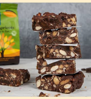 A photo of Crazy Jack's Apricot Nut Tiffin recipe