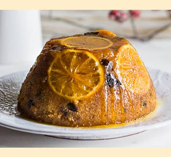 A recipe for Steamed Sponge Pudding