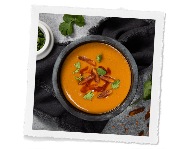 Red Lentil and Apricot Soup