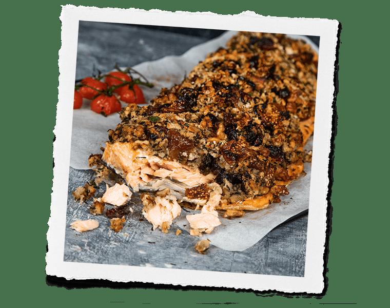 Crusted Salmon