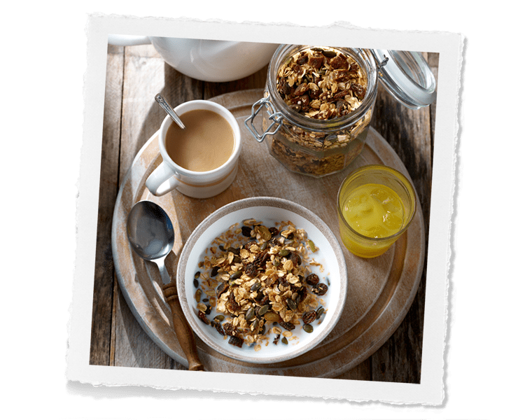 Honey & Fruit Granola