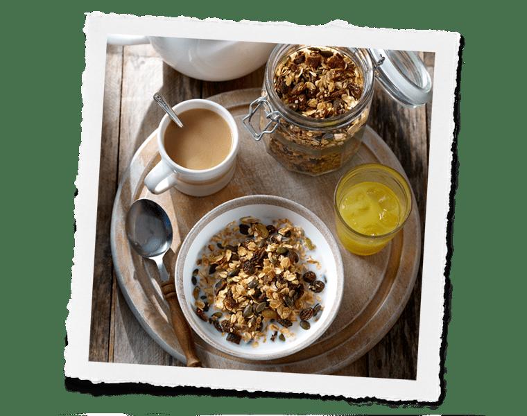 Honey & Fruit Granola